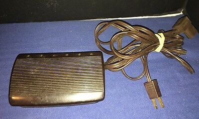 Singer Foot Pedal CR303 619494-001 Sewing Machine Controller 3 Prong Plug OEM