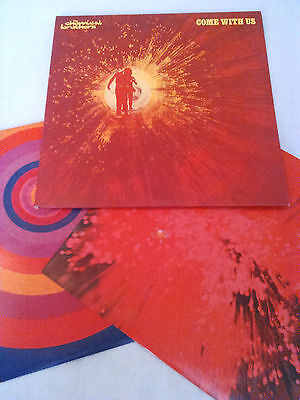 The Chemical Brothers - Come With Us 2X Lp + Inners N. Mint!!! Original Uk Xdust