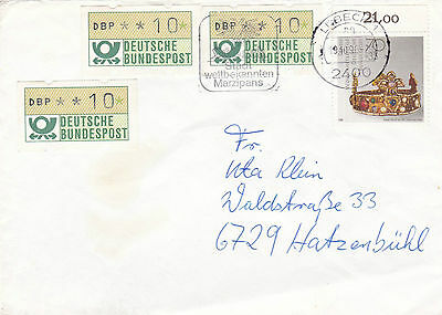 Germany Two Covers , Automation Machine Cancelled Covers