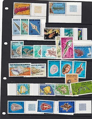 Fish And Sea Life   Stamps Mint Never Hinged  Huge Cat Value   R 2717
