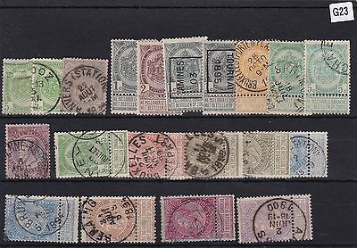 Early Belgium   Stamps  R 3349