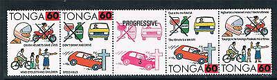 Tonga 1992 Surcharge issue SG 1187/92 MNH