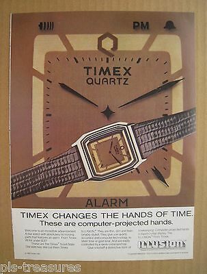 1983Timex Quartz Solid-State Dial Watches Color AD