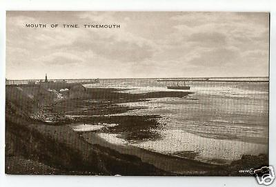 FLT Early Postcard, Mouth of the Tyne, Tynemouth