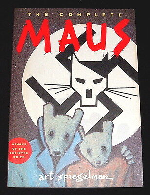 The Complete Maus..art Spiegelman..pb Ex.. Uk Penguin 2003 1St Ed Graphic Novel