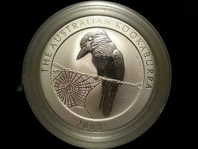 2008 2 oz Silver Kookaburra Coin -Sealed Roll of 5 coins