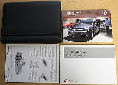 Vauxhall Astra H Owners Manual Handbook Wallet 2004-2010 Pack 13406