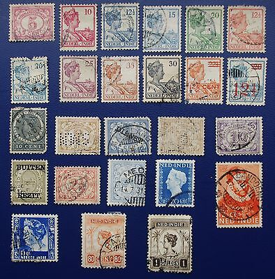 DUTCH INDIES - Early Collection of Used Stamps