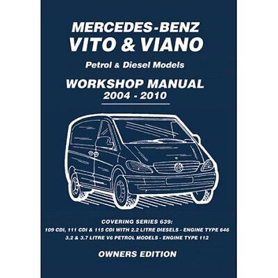 Mercedes-Benz Vito & Viano 2004-2010 Owners Workshop Manual MBV4WH NEW