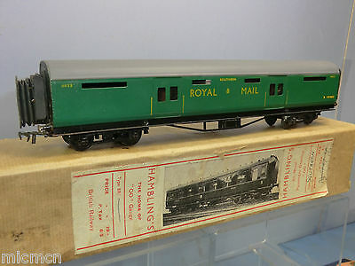 "Vintage Hambling's (00)  Model Of A Sr ""royal Mail"" Mail Sorting Coach Vn Mib"