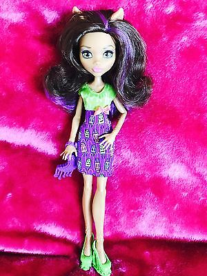 ❤️Monster High ~ Clawdeen Wolf ~ Birthday Bash ~ New From Packet ❤️398A7