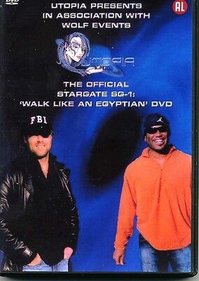 Stargate SG1 - UTOPIA Walk Like An Egyptian DVD. Shanks and Judge plus Tapping