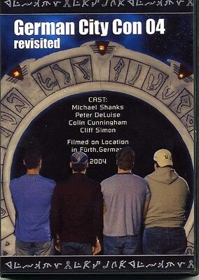 Stargate SG1 - German City Con 2004 DVD. Shanks and Deluise etc.