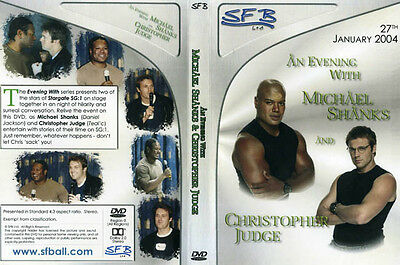 Stargate SG1 - An Evening With Shanks and Judge DVD. 2004