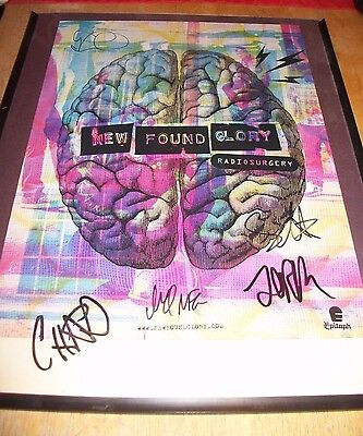 New Found Glory Radiosurgery Poster-Signed