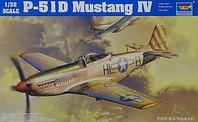 """TRUMPETER® 02275 P-51D Mustang IV """"American Beauty"""" in 1:32"""