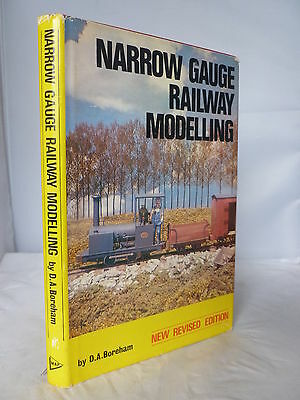 Narrow Gauge Railway Modelling - D A Boreham HB DJ SIGNED 1978 Illustrated