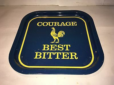 Vintage Courage Best Bitter Advertising Pub Tray