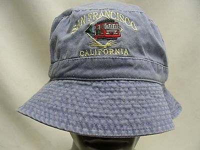 San Francisco - California - One Size (Likely Large) Bucket Hat Sun Cap!