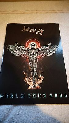 Judas Priest World Tour 2005 Concert Program Very Good order please see pictures