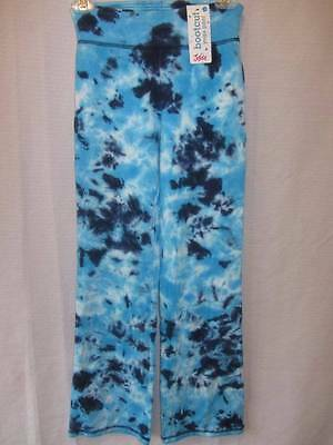 Justice One-of-a-kind Blue Bootcut Yoga Pants Girls 12 New