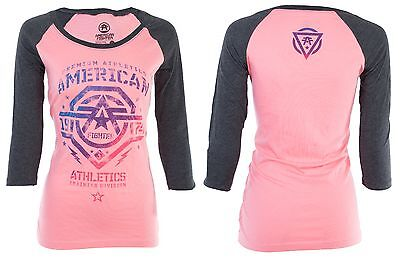 AMERICAN FIGHTER Womens T-Shirt NEW MEXICO Athletic Biker Gym MMA UFC $40