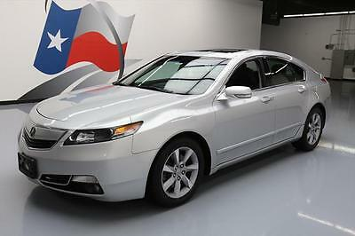 2012 Acura TL  2012 ACURA TL TECH SUNROOF HTD LEATHER NAV REAR CAM 68K #024004 Texas Direct