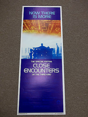 original special edition Close Encounters of the Third Kind movie poster insert
