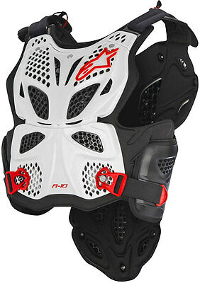 Alpinestars A-10 Full Chest Protector - Motocross Dirtbike Offroad