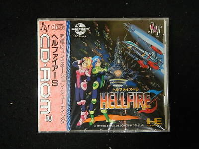 Hell Fire S NEC CD-ROM SYSTEM JP GAME.