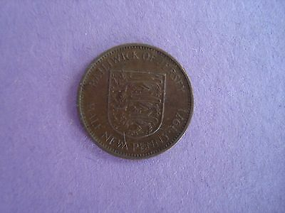 1971 Bailiwick Of Jersey  Half New Penny coin