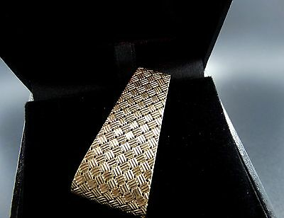 "14K  Solid Gold Exceptional 2"" Unisex Money Clip  20.9 grams"