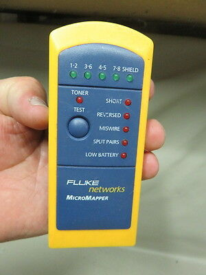 Fluke Networks Micromapper Twisted pair Network cable tester