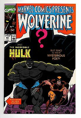 1990 Marvel Comics Presents #58 Wolverine and the Incredible Hulk