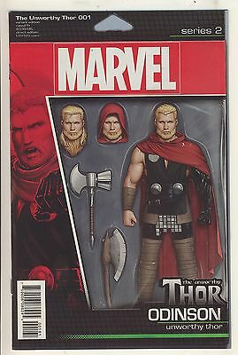 The Unworthy Thor (2015) 1 NM Action Figure Variant Cover