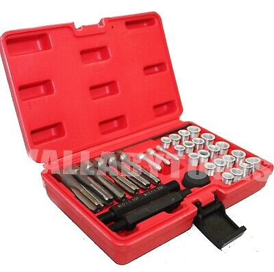12mm 33pcs Glow Plug Cylinder Head Metric Thread Repair Kit 8mm 10mm