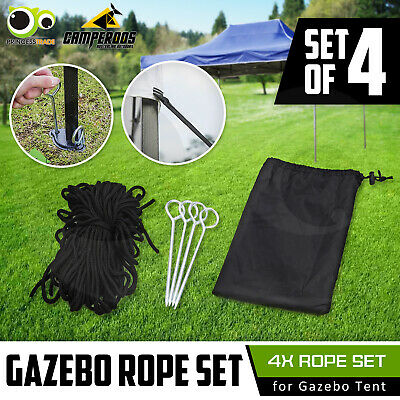 Gazebo Rope Set Outdoor Marquee Tent Pop Up Folding Canopy Event Market Party BB