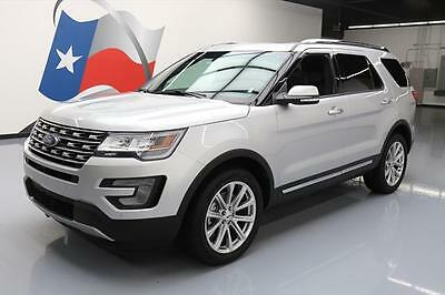2017 Ford Explorer  2017 FORD EXPLORER AWD LIMITED DUAL SUNROOF NAV 16K MI #A17047 Texas Direct Auto