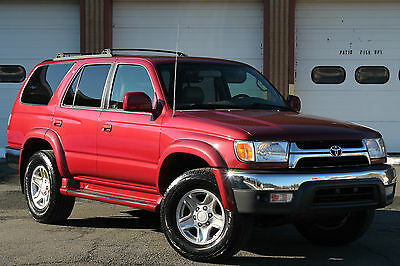 2002 Toyota 4Runner MASSIVE SERVICE JUST DONE, NEW T-BELT, MUCH MORE! 2002 TOYOTA 4RUNNER SR5 4X4 V6 LEATHER SUNROOF HUGE SERVICE JUST DONE SHARP!