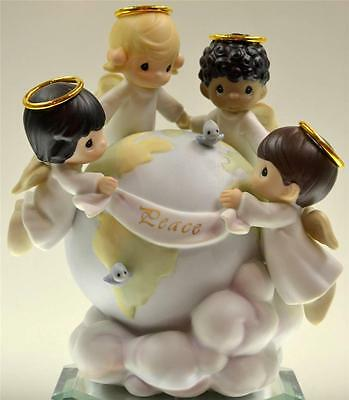 Precious Moments MILLENIUM LEdtn CHILDREN OF THE WORLD PEACE ON EARTH 539309 NIB