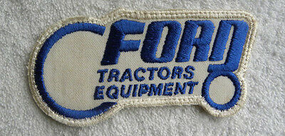 Unusual Vintage Ford Tractors, Equipment PATCH in Shape of a Tractor