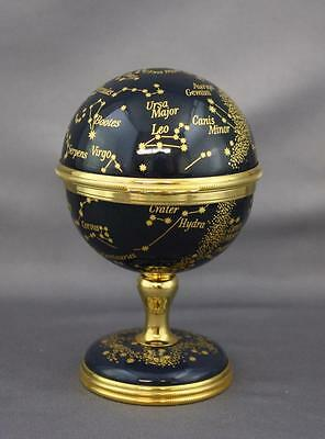 Halcyon Days Reuge Music Box Holst Jupiter The Planets Constellation Globes