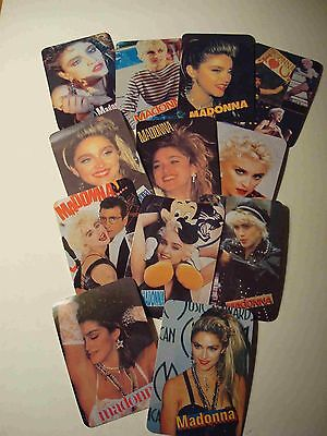 Madonna #3, 1992 Calendar Cards, Portuguese Language, Set Of 12 Cards