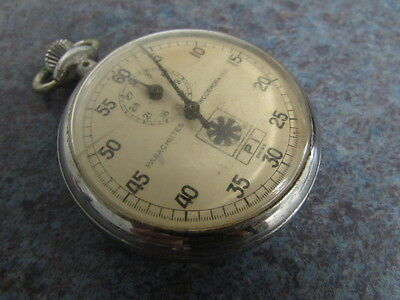 Parachutes Incorporated Stop Watch Circa late 50s Swiss Movement