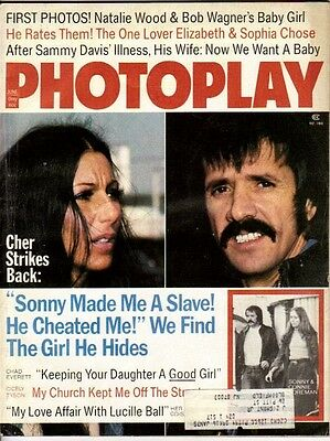 Photoplay 1974 June Sonny And Cher Cover