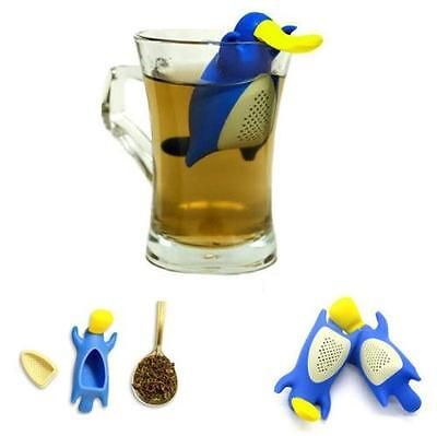 Platypus Tea Infuser Silicone Loose Leaf Novelty Coffee Filter Infuse Gift Cute