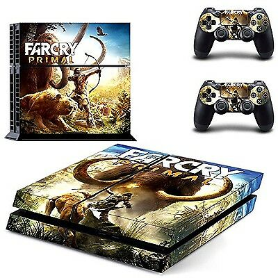 Farcry Primal Designer Skin Sticker For Sony Ps4 And Controller