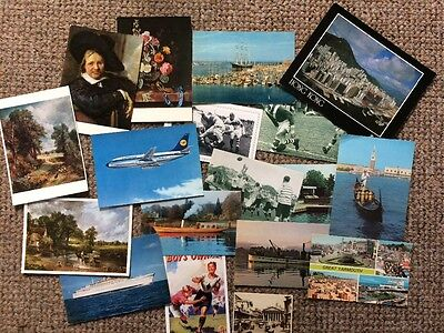 Bulk collection of postcards