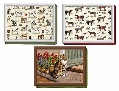 Creative Tops TV Dinner Laptop Lap Tray Laptray Cat  Best in Show Dog Horse Race