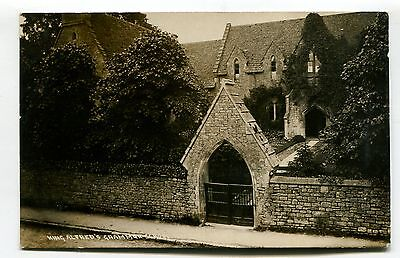 Wantage - King Alfred's Grammar School - old real photo postcard